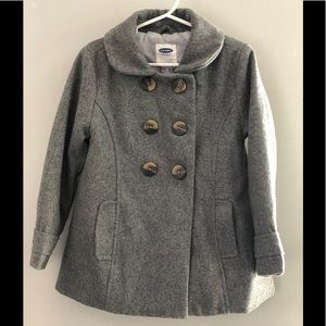 Adorable Gray Peacoat